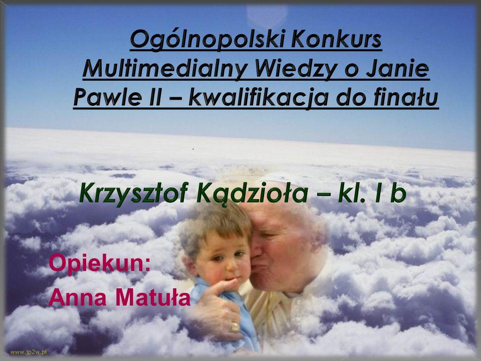 Krzysztof Kądzioła – kl. I b