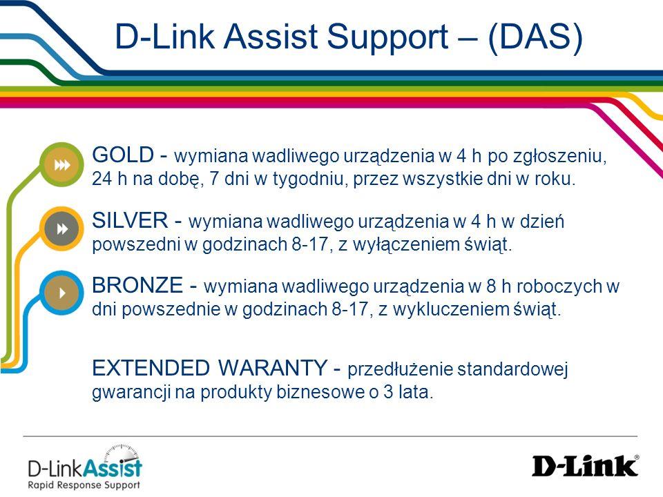 D-Link Assist Support – (DAS)
