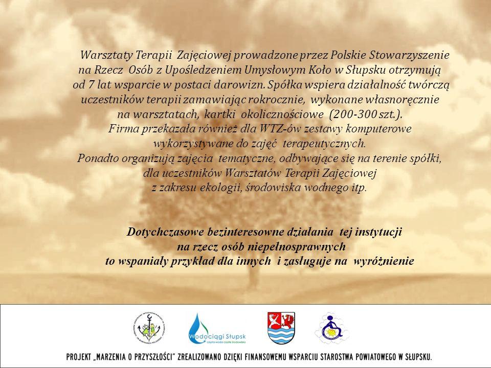 Warsztaty Terapii Zajęciowej prowadzone przez Polskie Stowarzyszenie