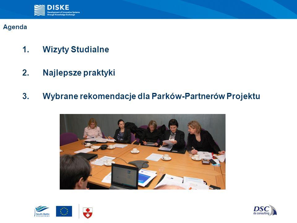 Wybrane rekomendacje dla Parków-Partnerów Projektu