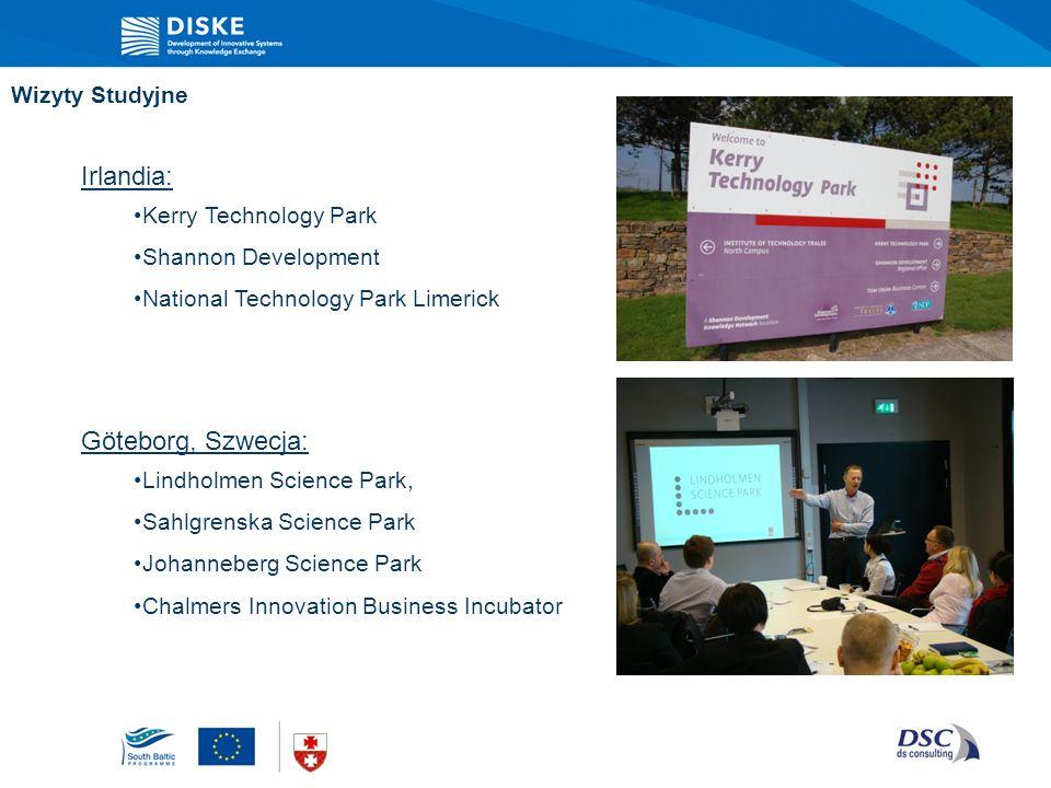 Irlandia: Göteborg, Szwecja: Wizyty Studyjne Kerry Technology Park