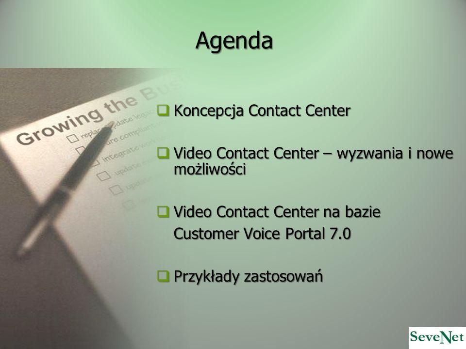 Agenda Koncepcja Contact Center