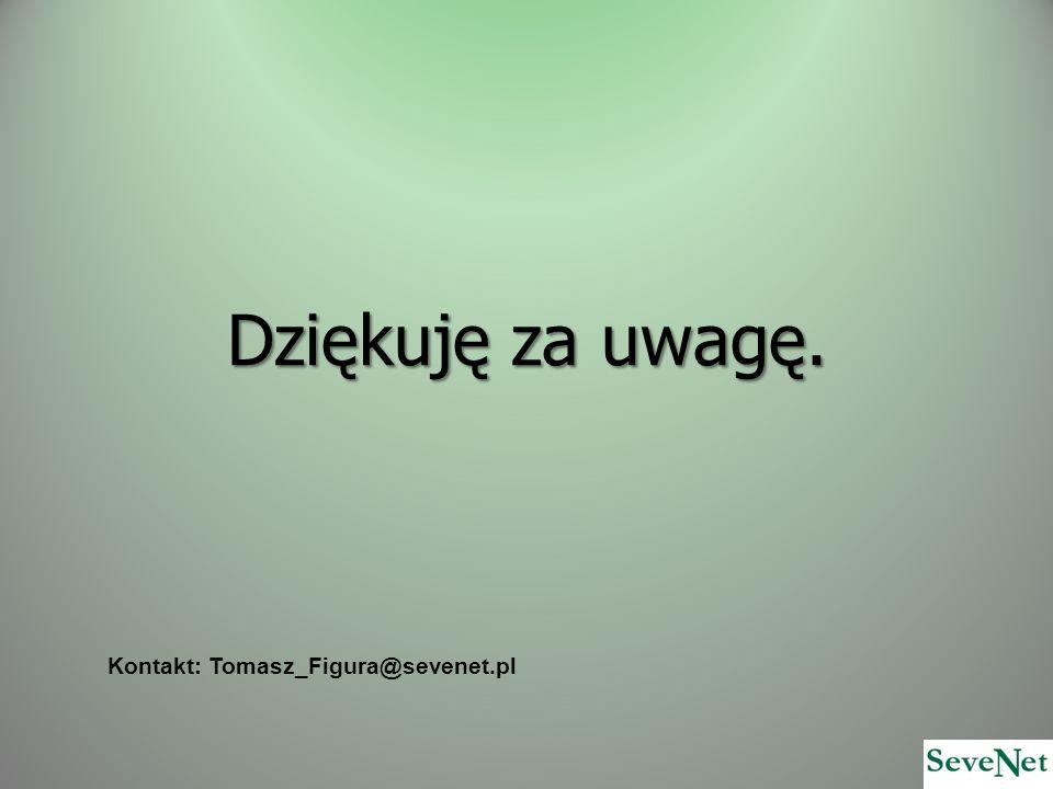 Kontakt: Tomasz_Figura@sevenet.pl