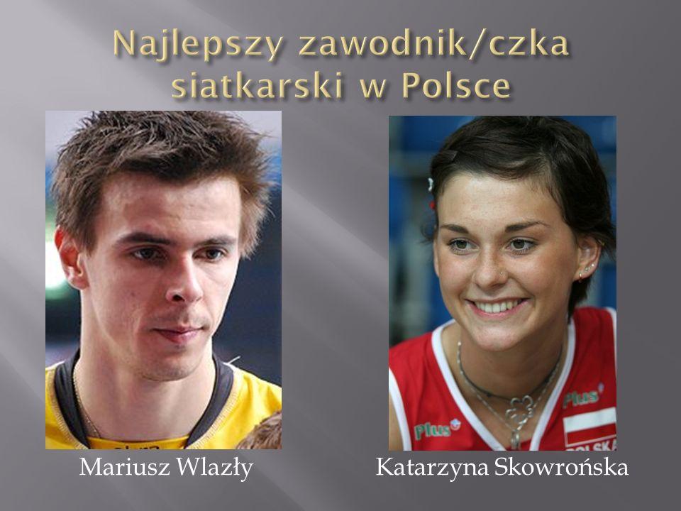 Najlepszy zawodnik/czka siatkarski w Polsce