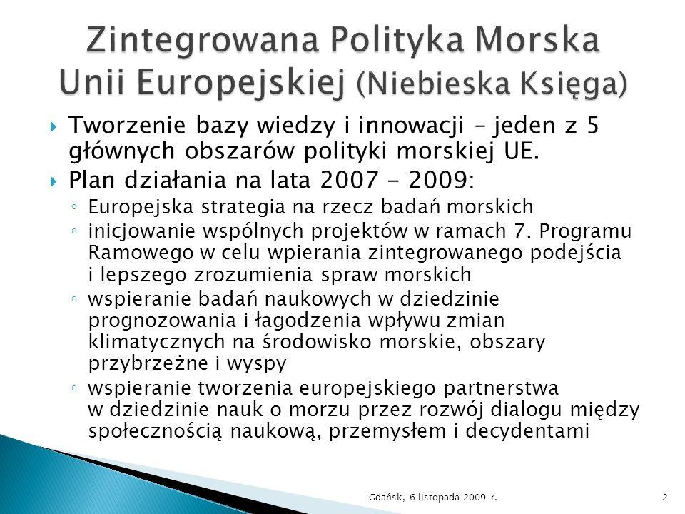 Zintegrowana Polityka Morska Unii Europejskiej (Niebieska Księga)