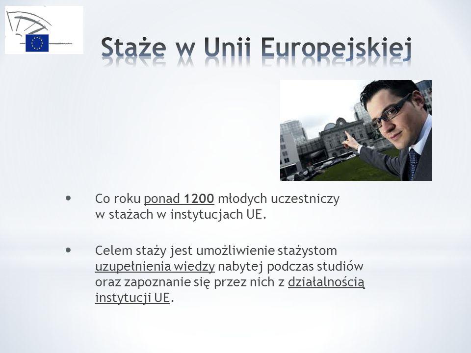 Staże w Unii Europejskiej