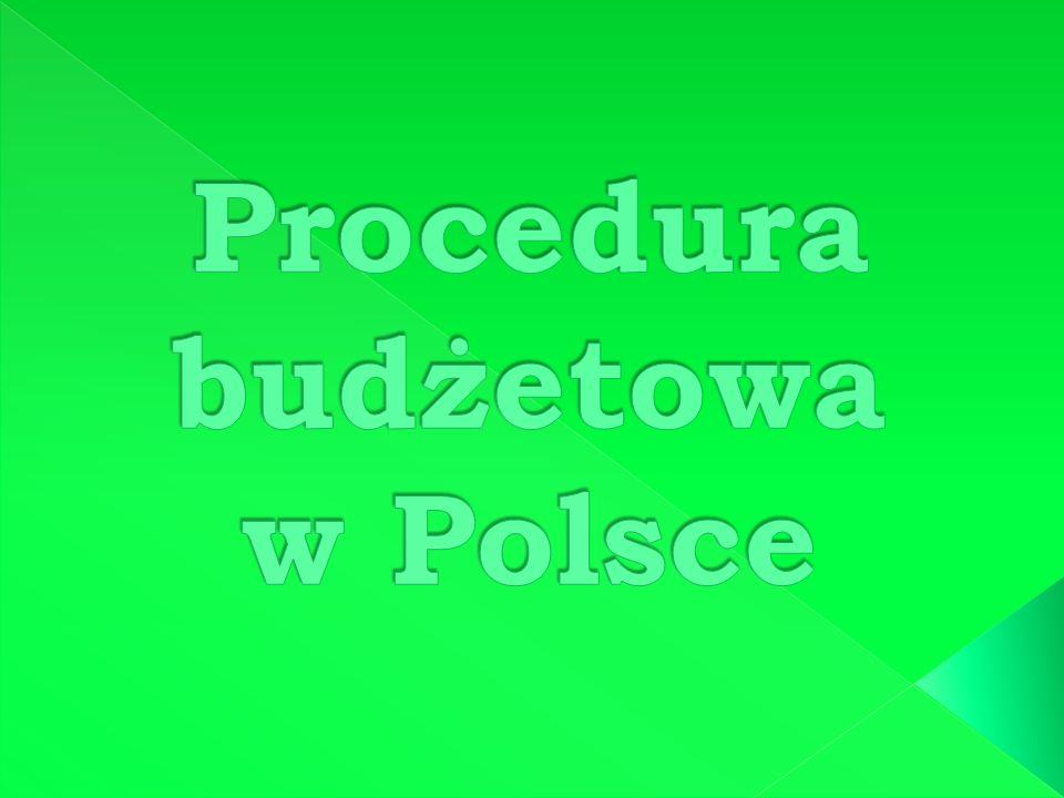 Procedura budżetowa w Polsce