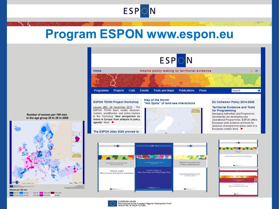 Program ESPON www.espon.eu