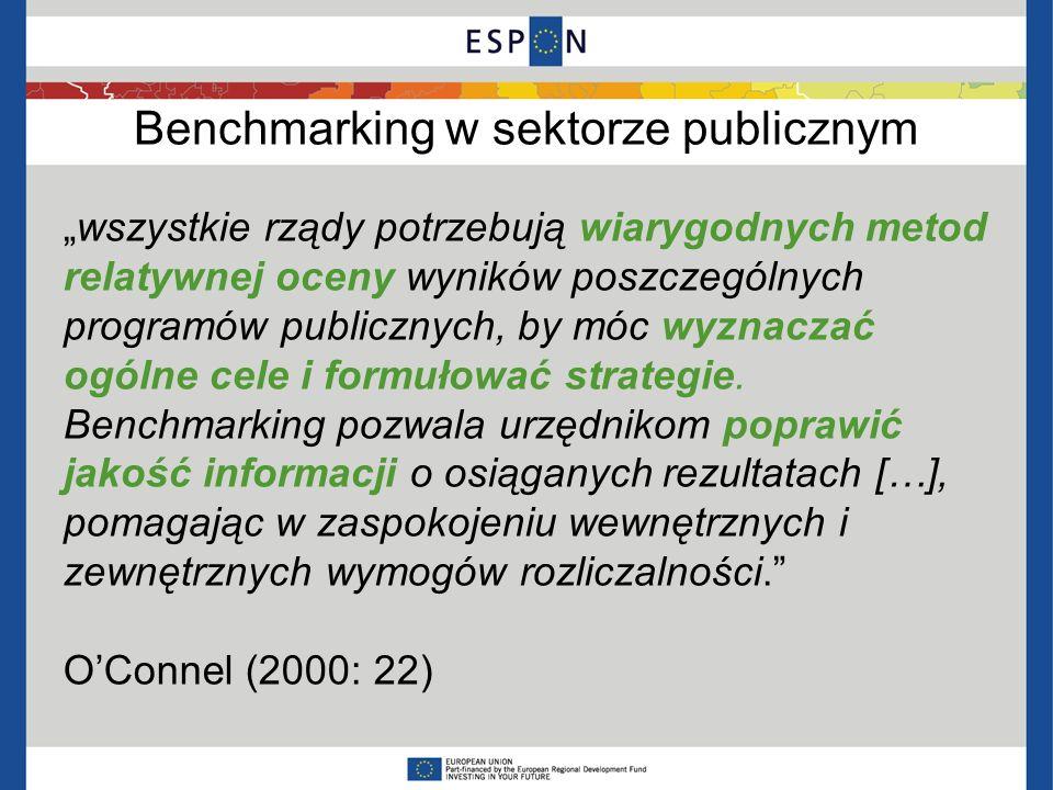 Benchmarking w sektorze publicznym