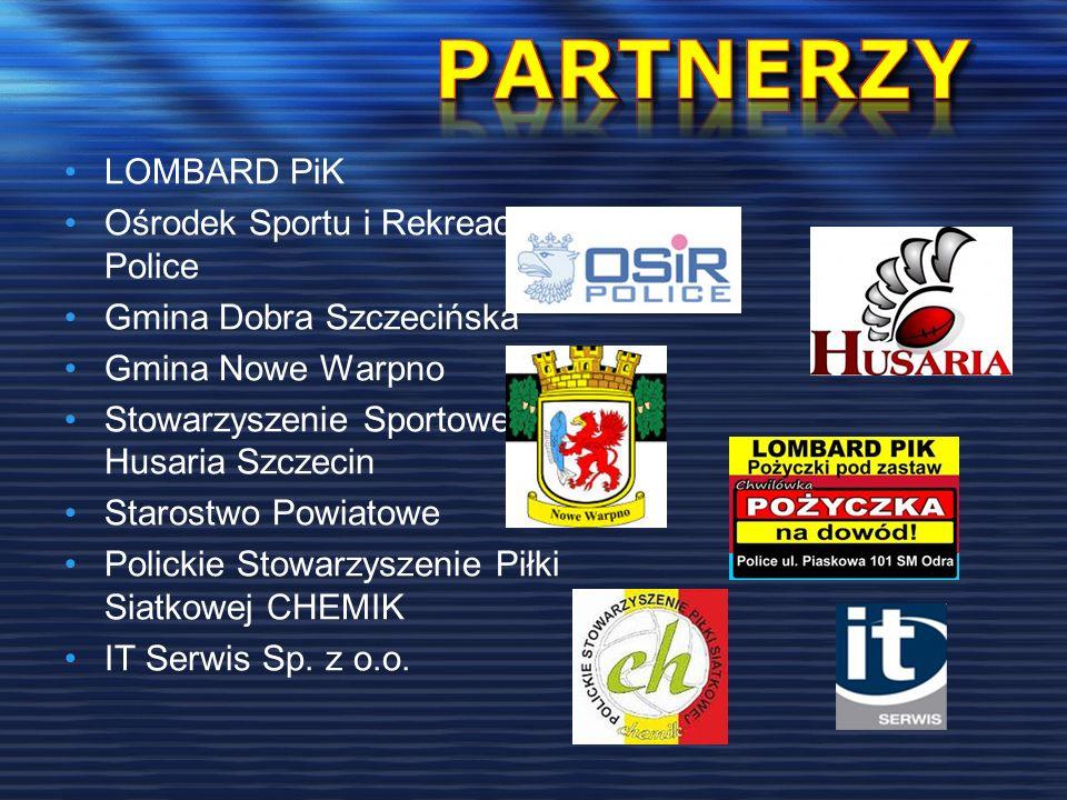 PARTNERZY LOMBARD PiK Ośrodek Sportu i Rekreacji Police