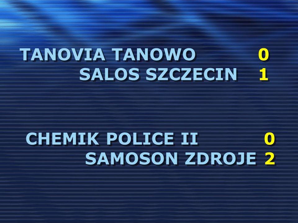 TanoVia Tanowo 0 Salos Szczecin 1