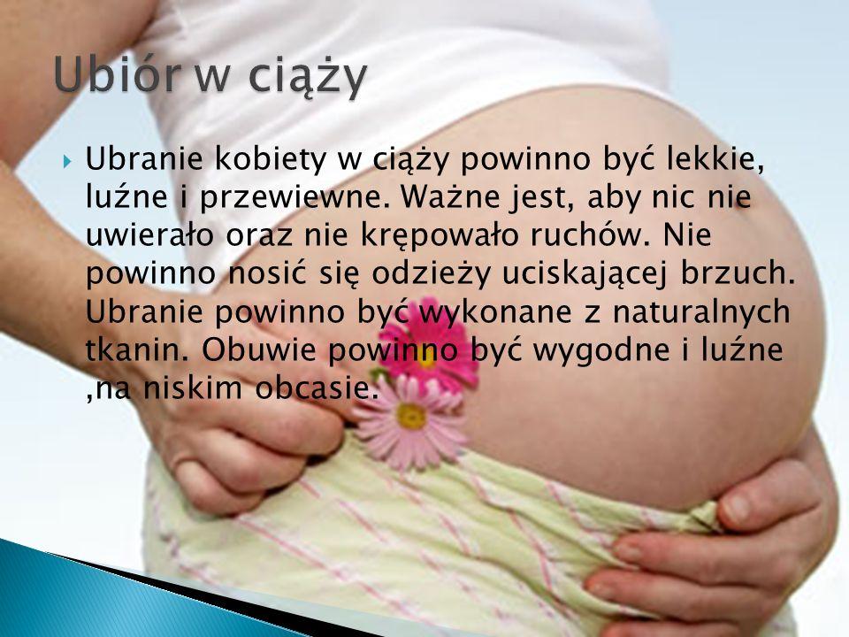 Ubiór w ciąży