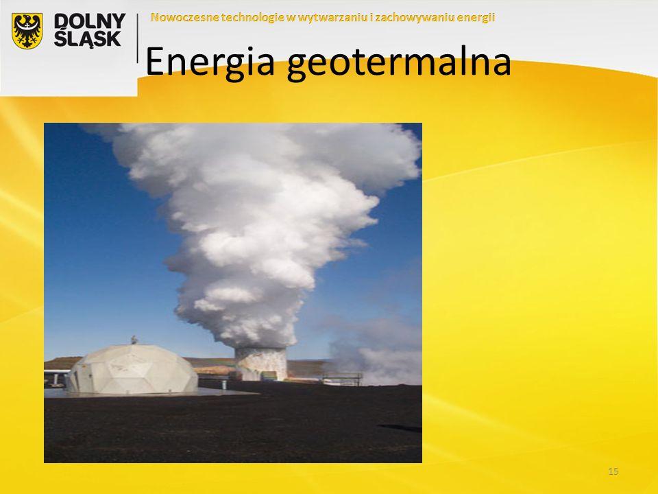 Nowoczesne technologie w wytwarzaniu i zachowywaniu energii