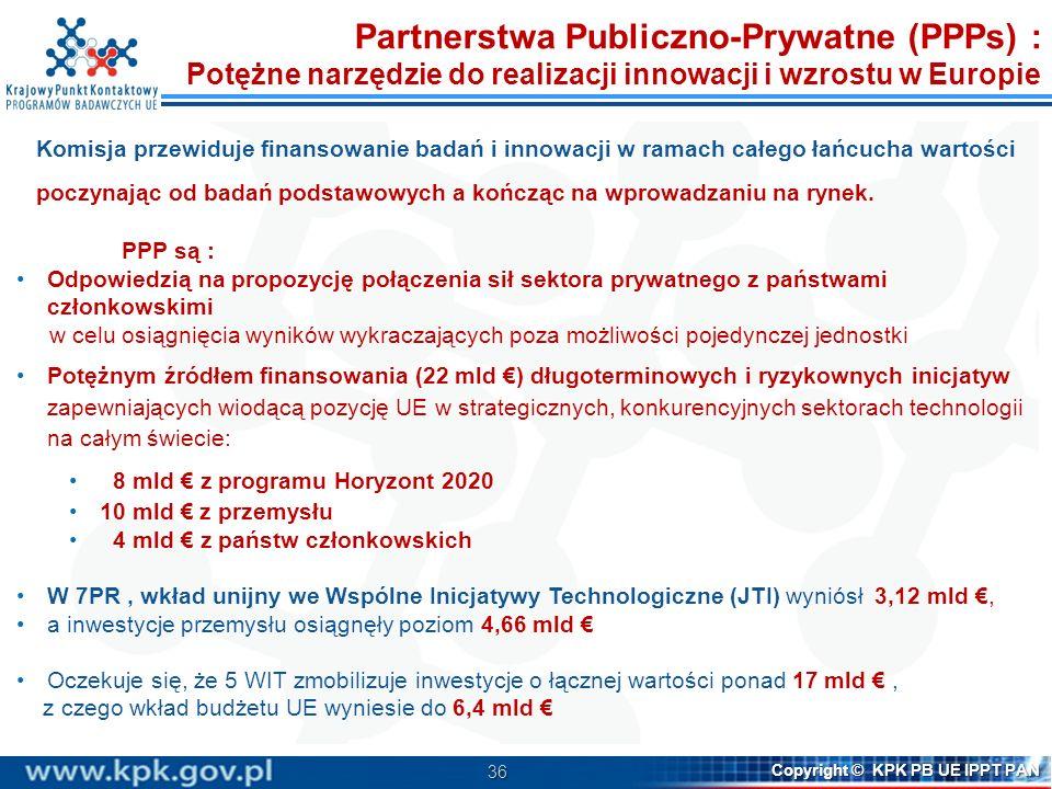 Partnerstwa Publiczno-Prywatne (PPPs) :