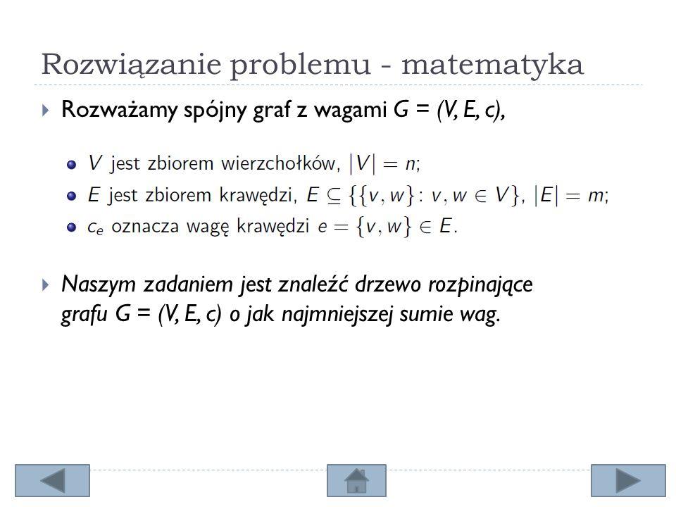 Rozwiązanie problemu - matematyka