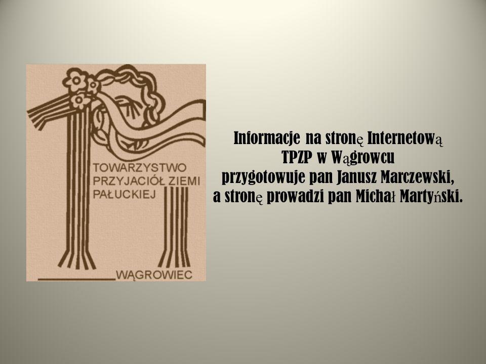 Informacje na stronę Internetową TPZP w Wągrowcu