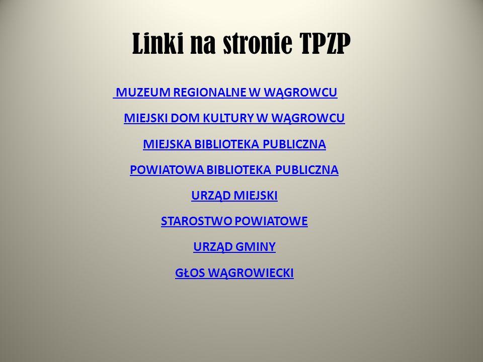 Linki na stronie TPZP
