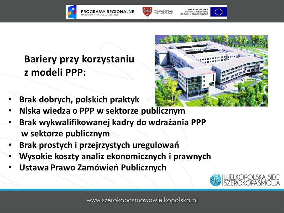 Bariery przy korzystaniu z modeli PPP: