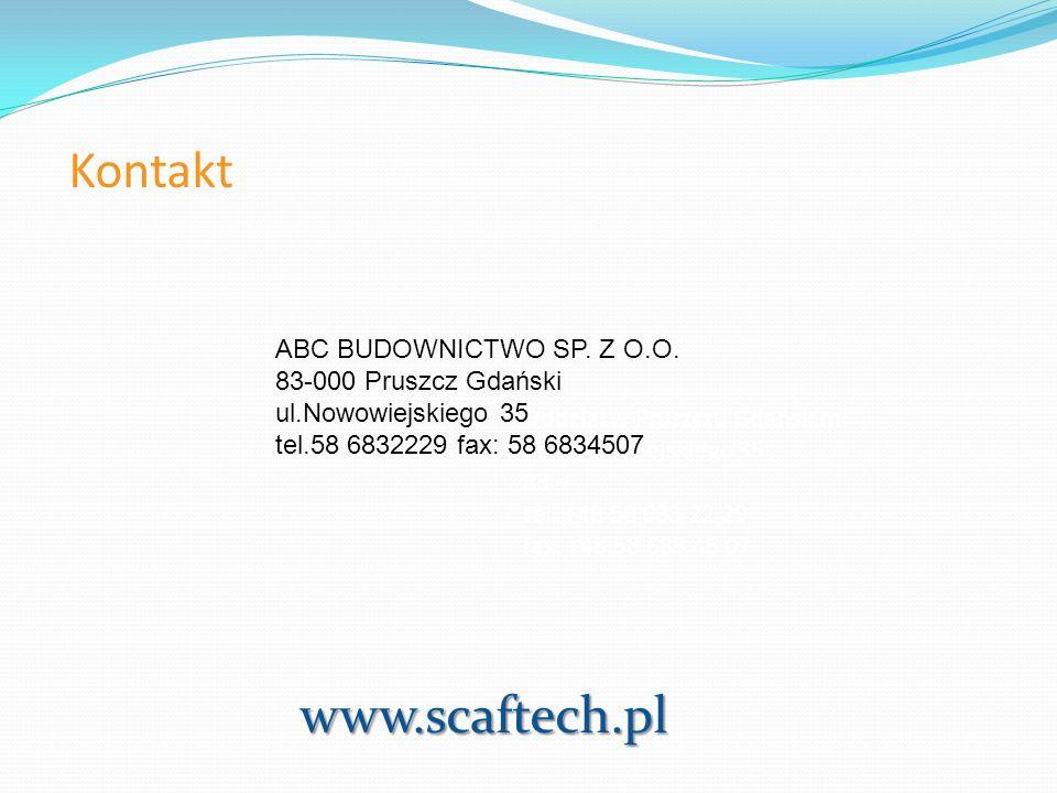 Kontakt www.scaftech.pl