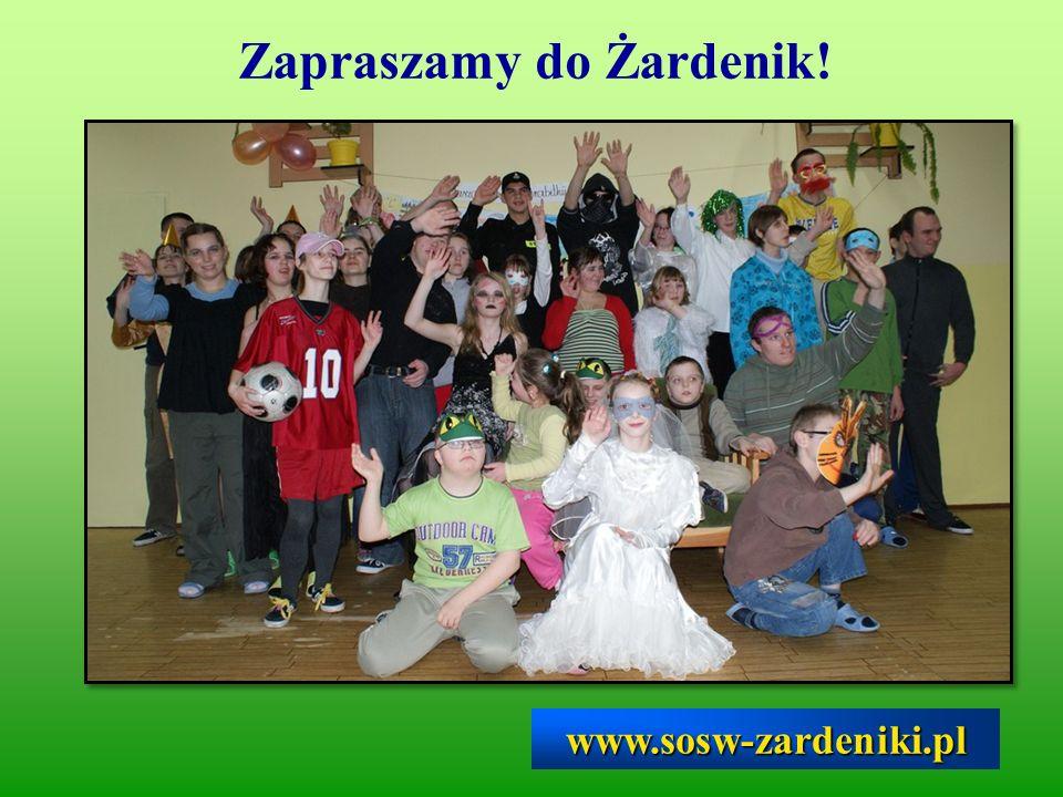 Zapraszamy do Żardenik!