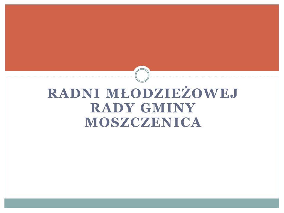 Radni Młodzieżowej Rady Gminy Moszczenica