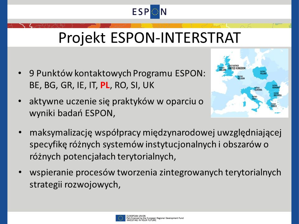 Projekt ESPON-INTERSTRAT
