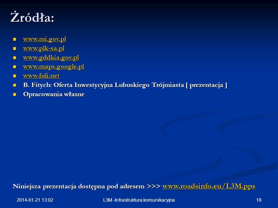 L3M -Infrastruktura komunikacyjna