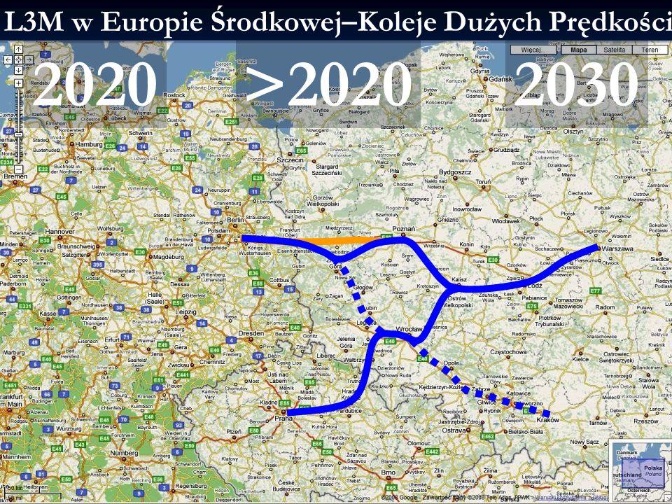 L3M w Europie Środkowej–Koleje Dużych Prędkości