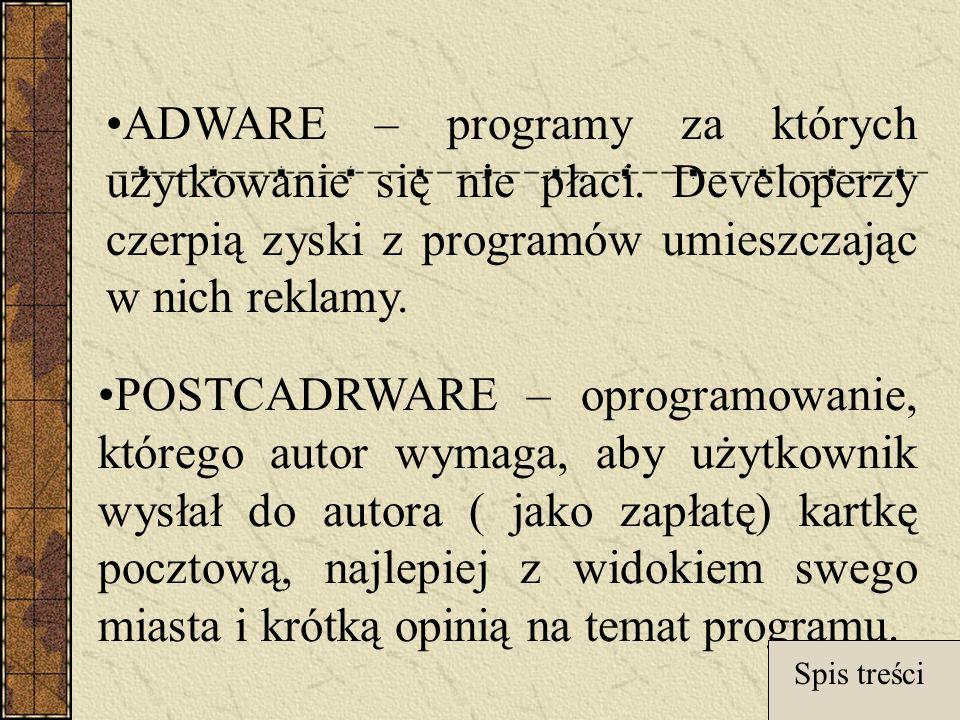 ADWARE – programy za których użytkowanie się nie płaci