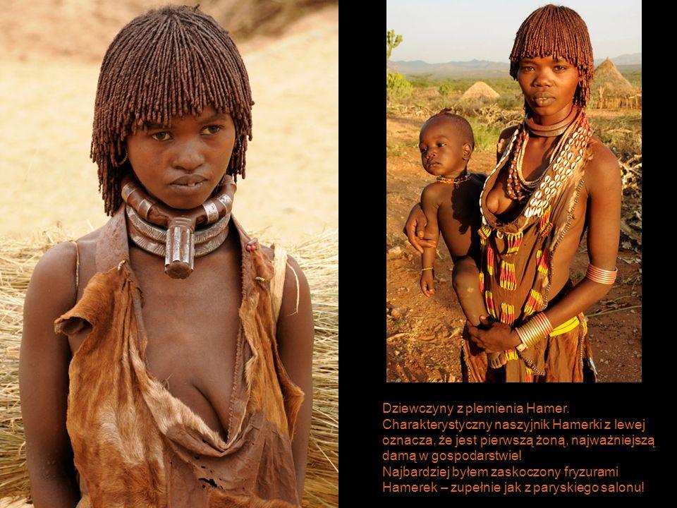 Dziewczyny z plemienia Hamer.