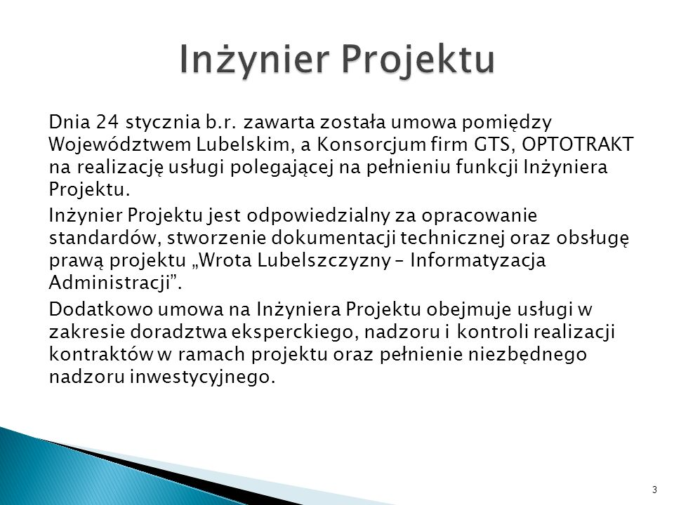 Inżynier Projektu