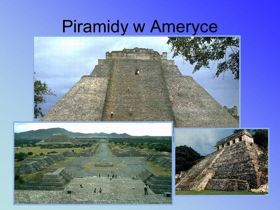Piramidy w Ameryce