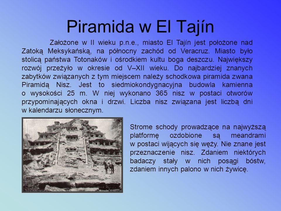 Piramida w El Tajín