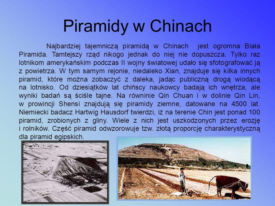 Piramidy w Chinach