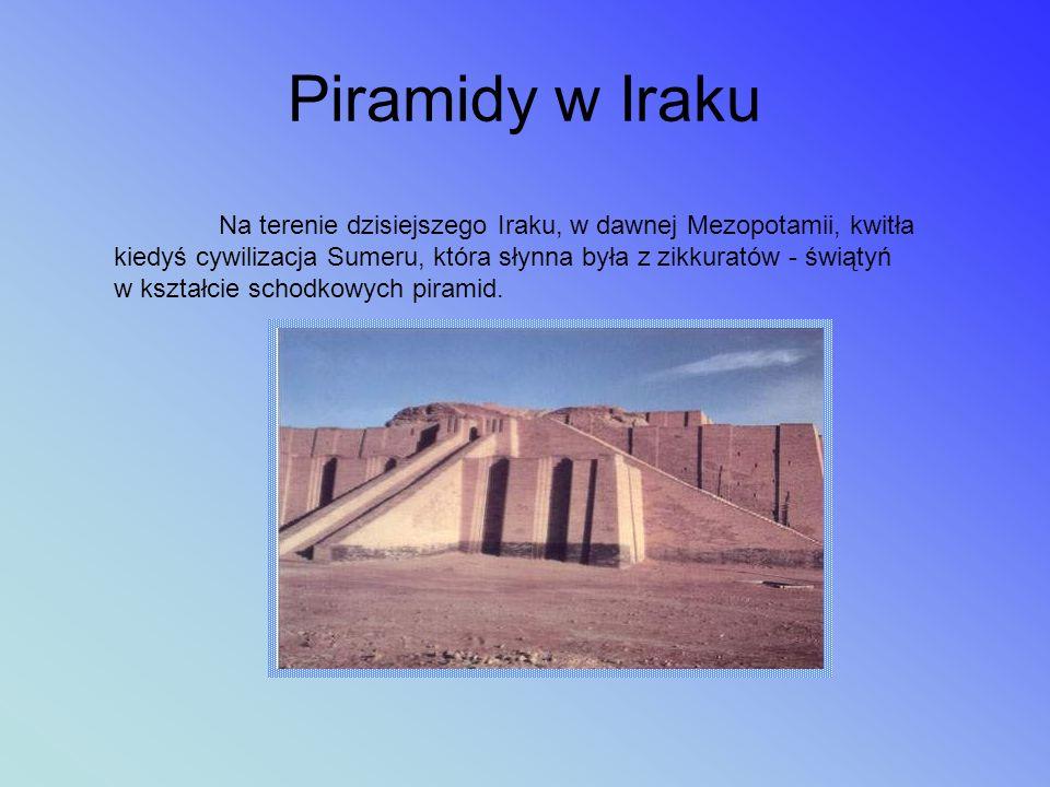 Piramidy w Iraku