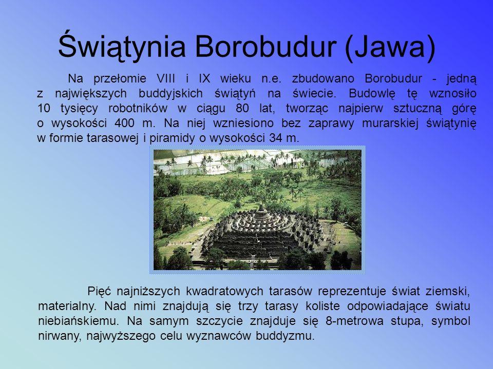 Świątynia Borobudur (Jawa)