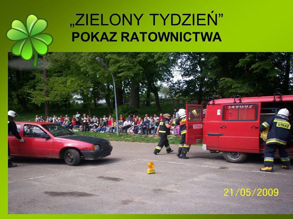 """""""ZIELONY TYDZIEŃ POKAZ RATOWNICTWA"""