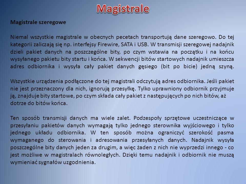 Magistrale Magistrale szeregowe