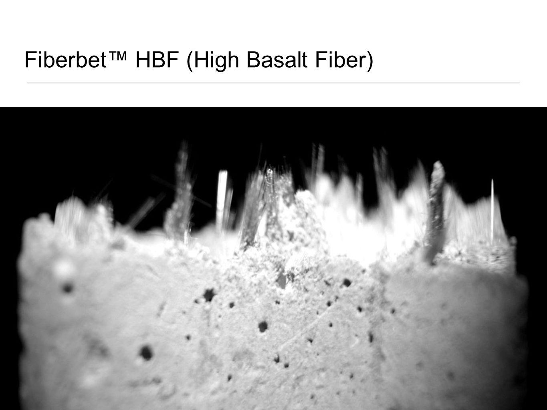 Fiberbet™ HBF (High Basalt Fiber)