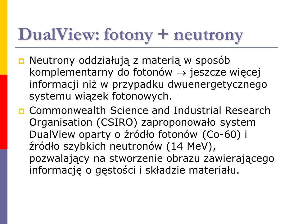 DualView: fotony + neutrony