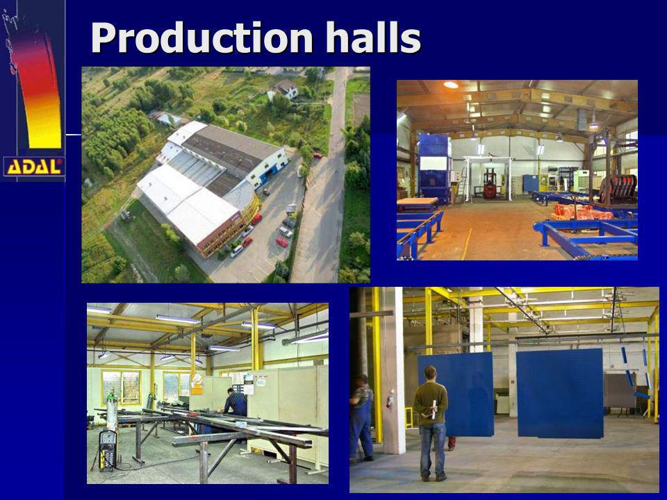 Production halls