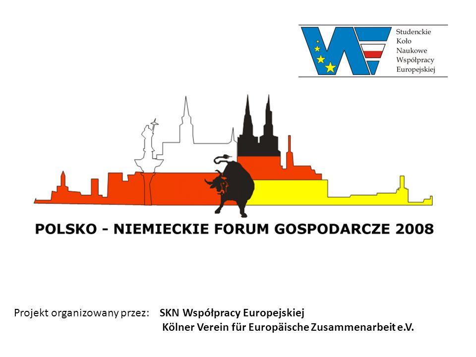 Projekt organizowany przez: SKN Współpracy Europejskiej