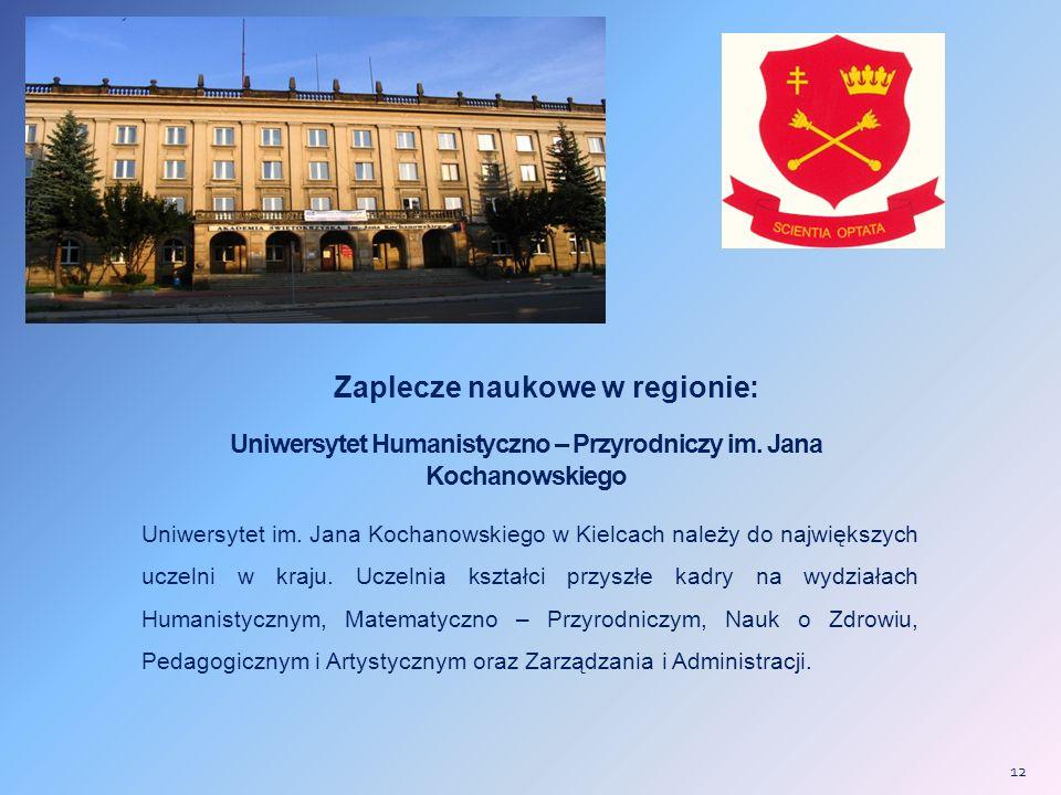 Uniwersytet Humanistyczno – Przyrodniczy im. Jana Kochanowskiego