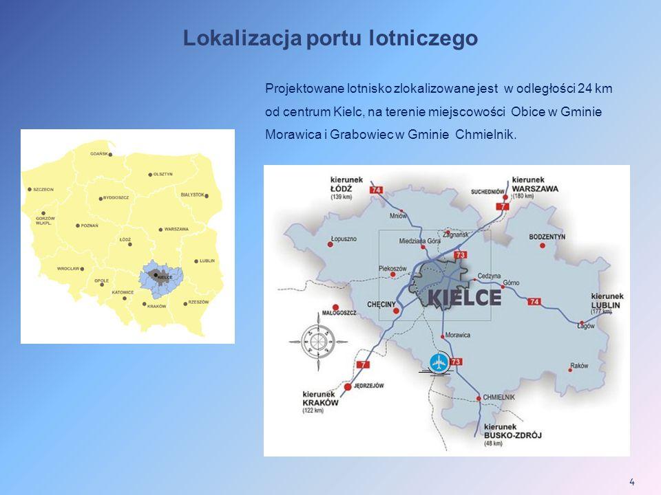 Lokalizacja portu lotniczego