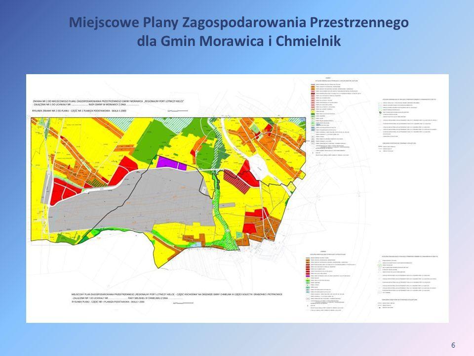 Miejscowe Plany Zagospodarowania Przestrzennego dla Gmin Morawica i Chmielnik