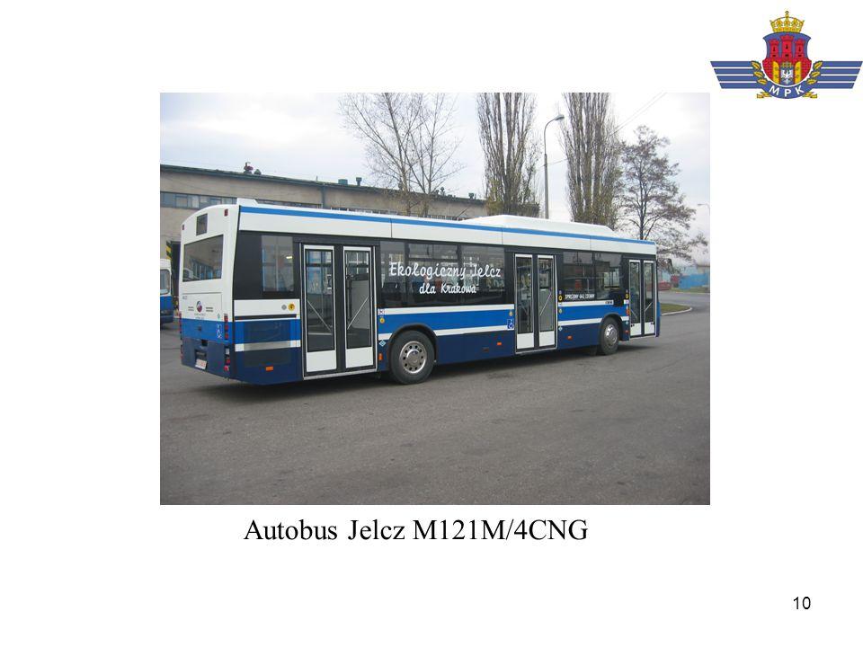 Autobus Jelcz M121M/4CNG