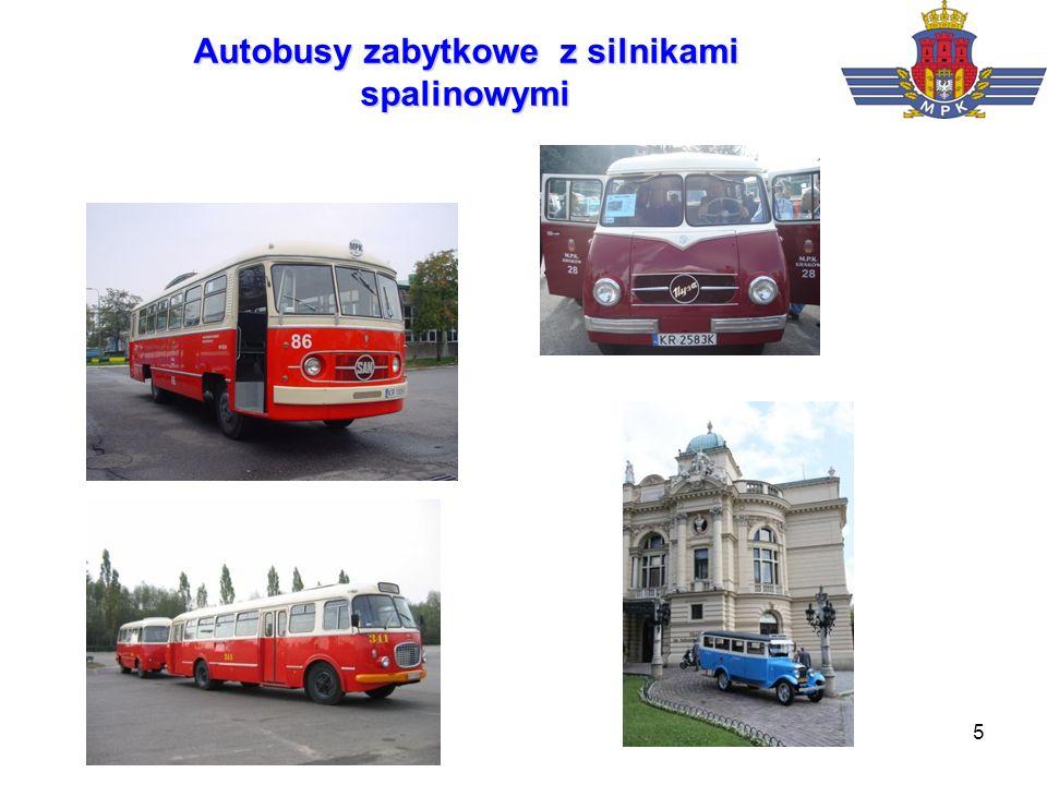 Autobusy zabytkowe z silnikami spalinowymi
