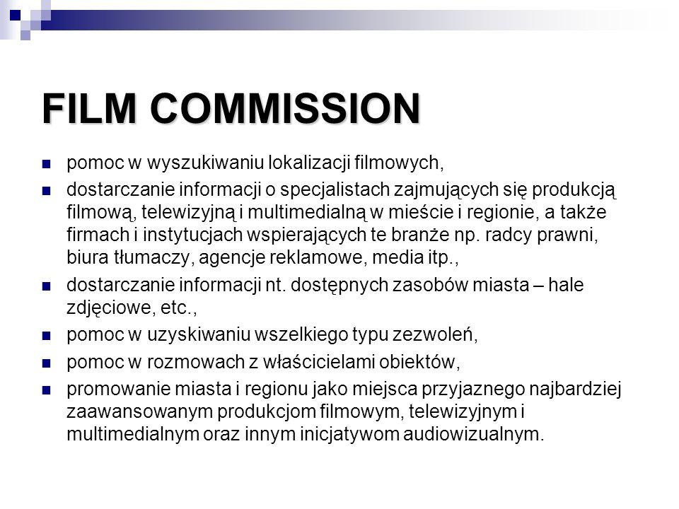 FILM COMMISSION pomoc w wyszukiwaniu lokalizacji filmowych,