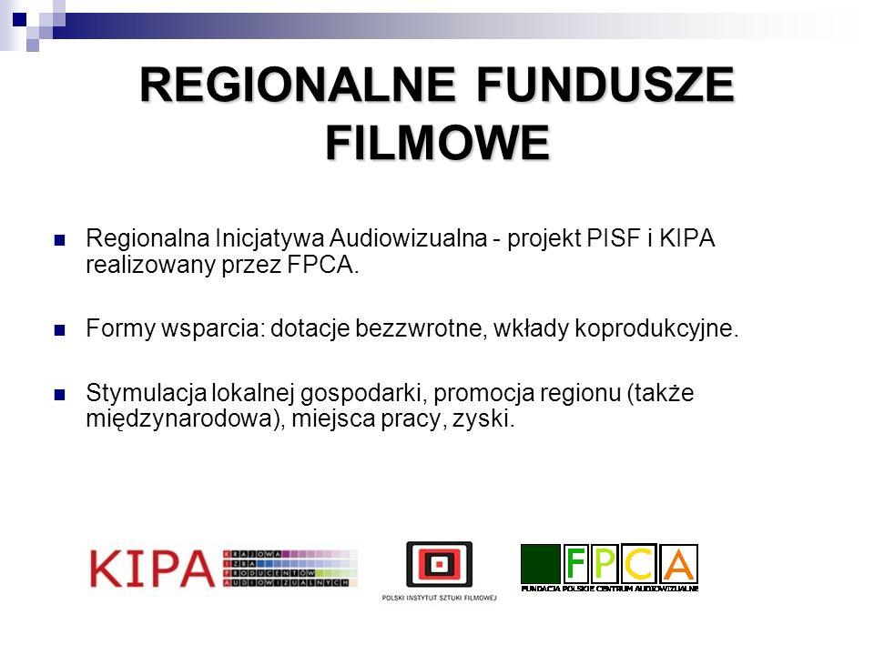 REGIONALNE FUNDUSZE FILMOWE