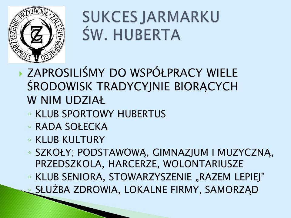 SUKCES JARMARKU ŚW. HUBERTA